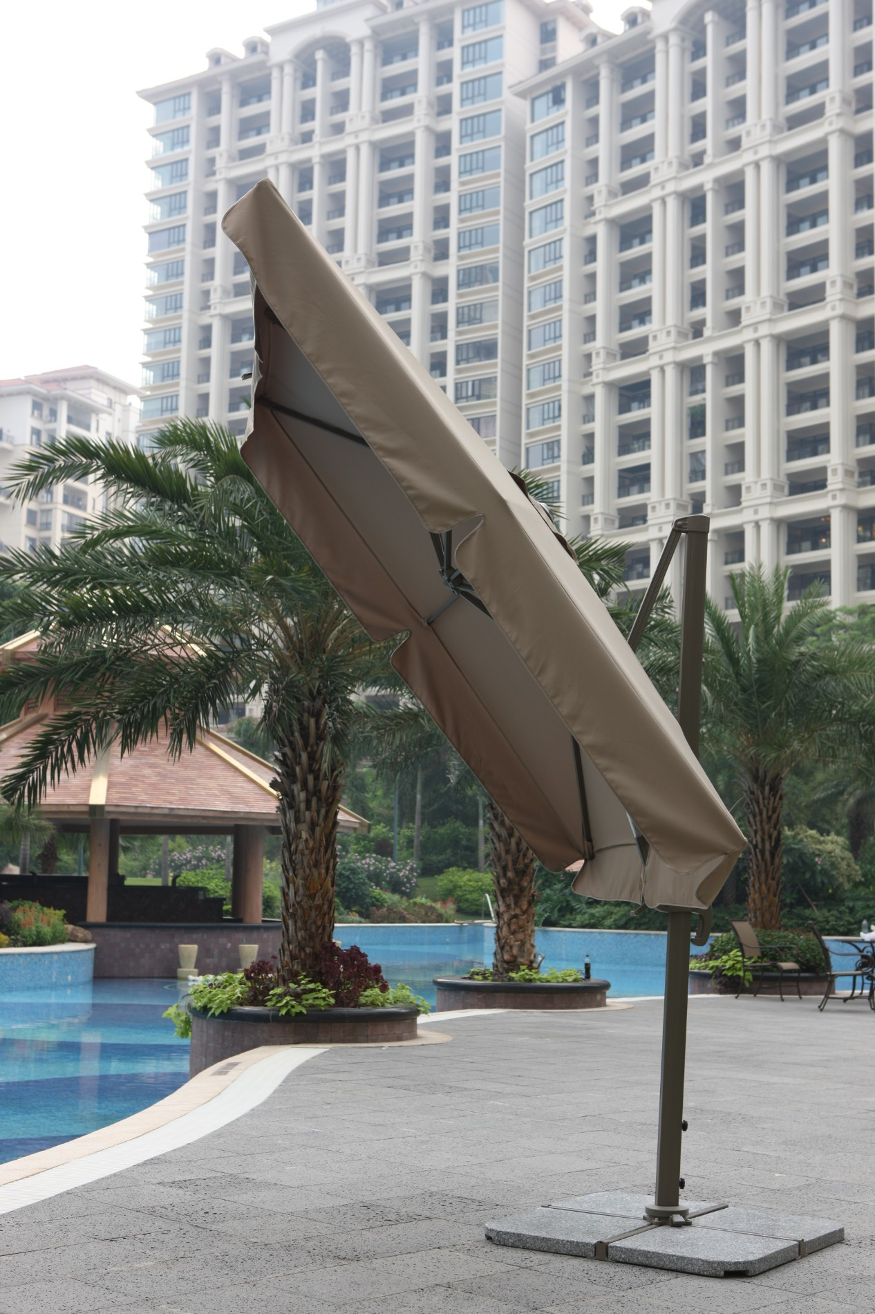 Outdoor Parasol With Aluminium Pole With Cross Base Manufacturers, Outdoor Parasol With Aluminium Pole With Cross Base Factory, Supply Outdoor Parasol With Aluminium Pole With Cross Base