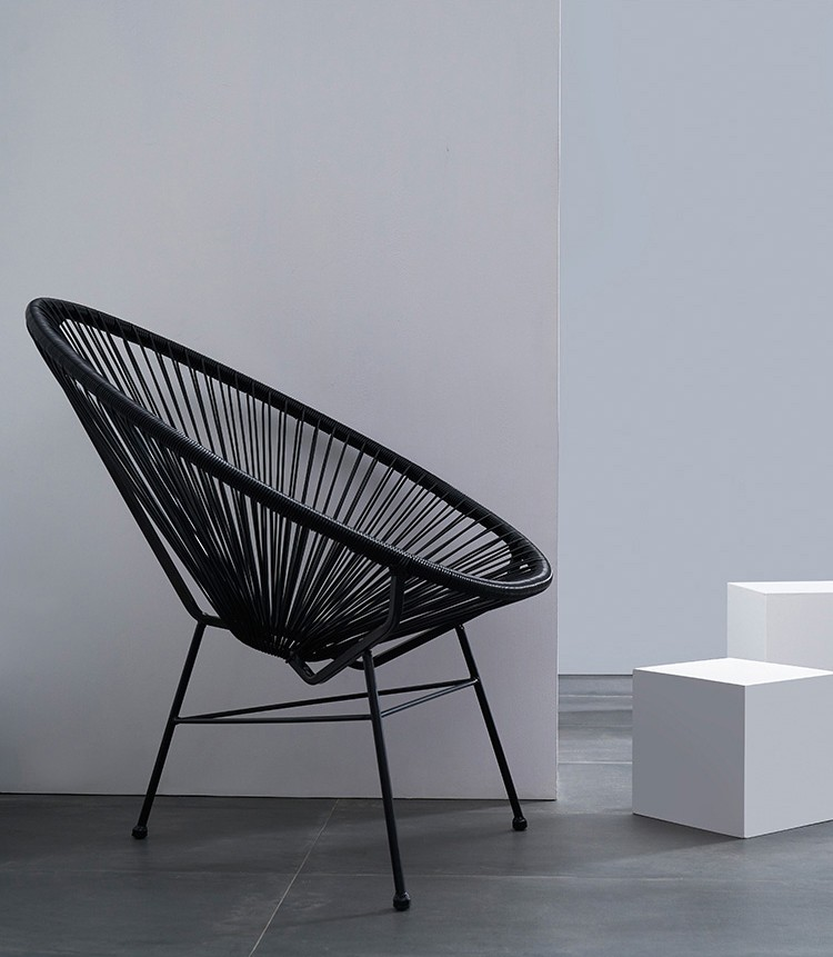 Wicker outdoor chair rattan chair outdoor furniture