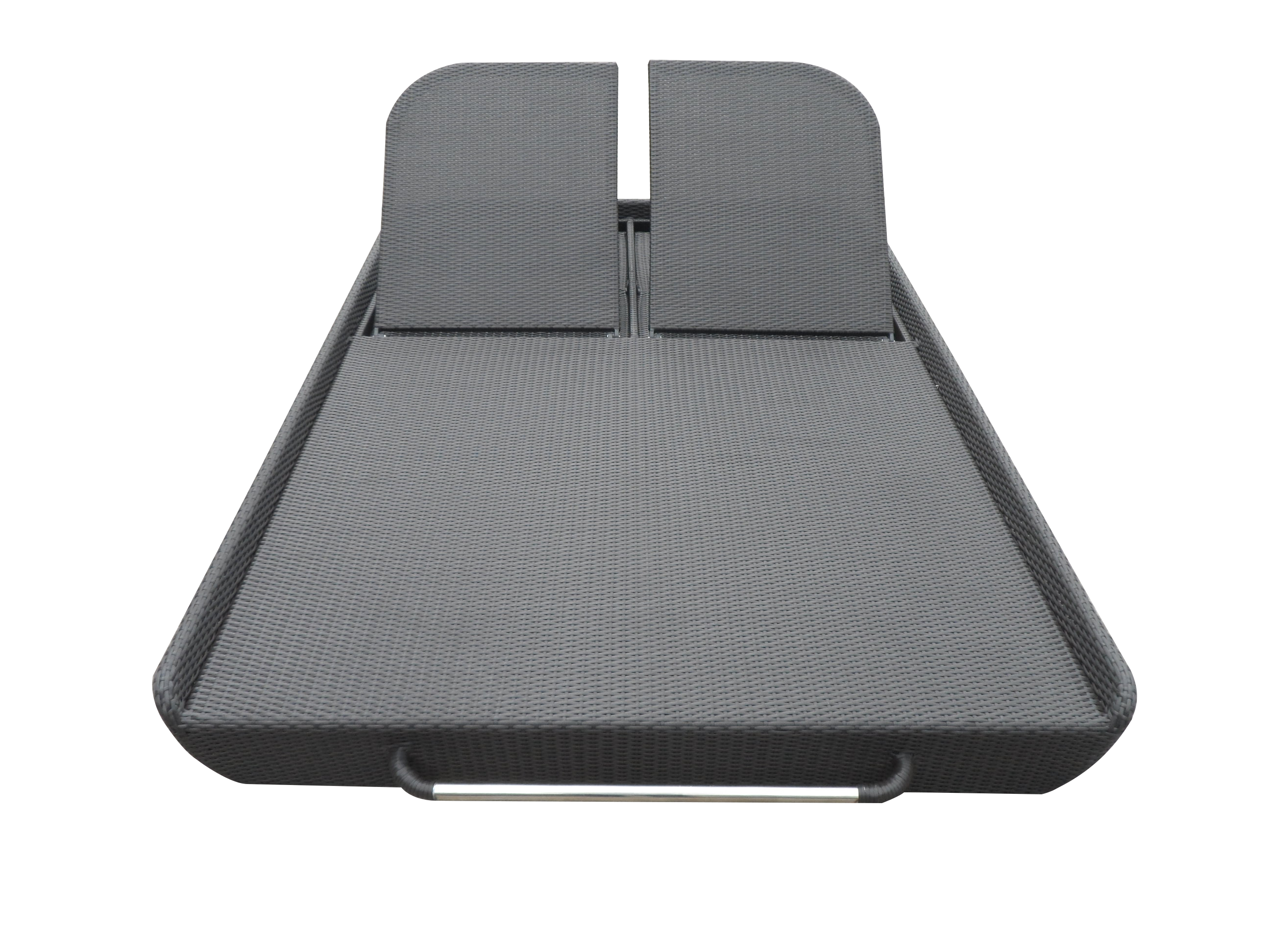 double rattan sun chaise lounger Manufacturers, double rattan sun chaise lounger Factory, Supply double rattan sun chaise lounger