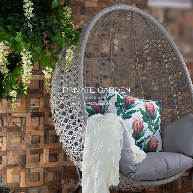 China Garden Egg Swing Chair Supplier