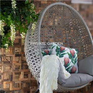 China Garden Egg Swing Chair Supplier