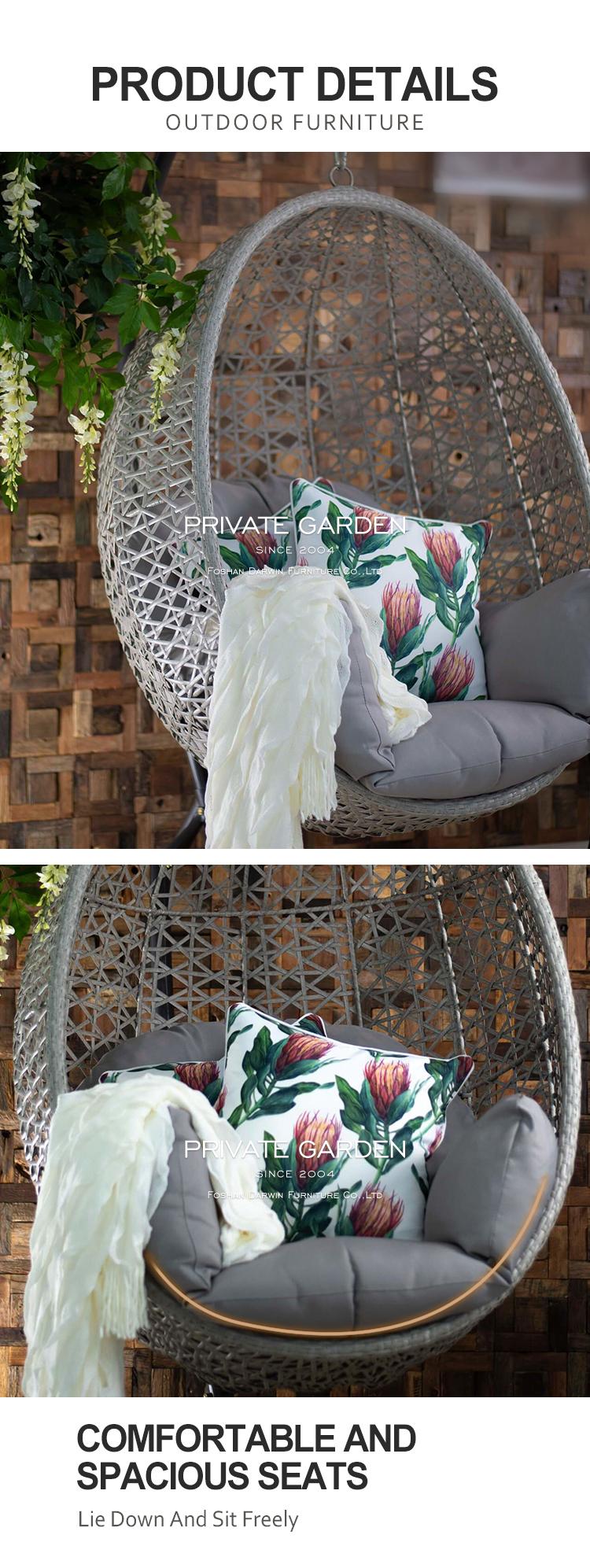 rattan chair neck hammock