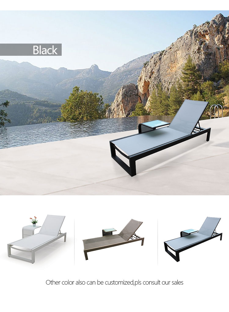 outdoor chaise sunlounger