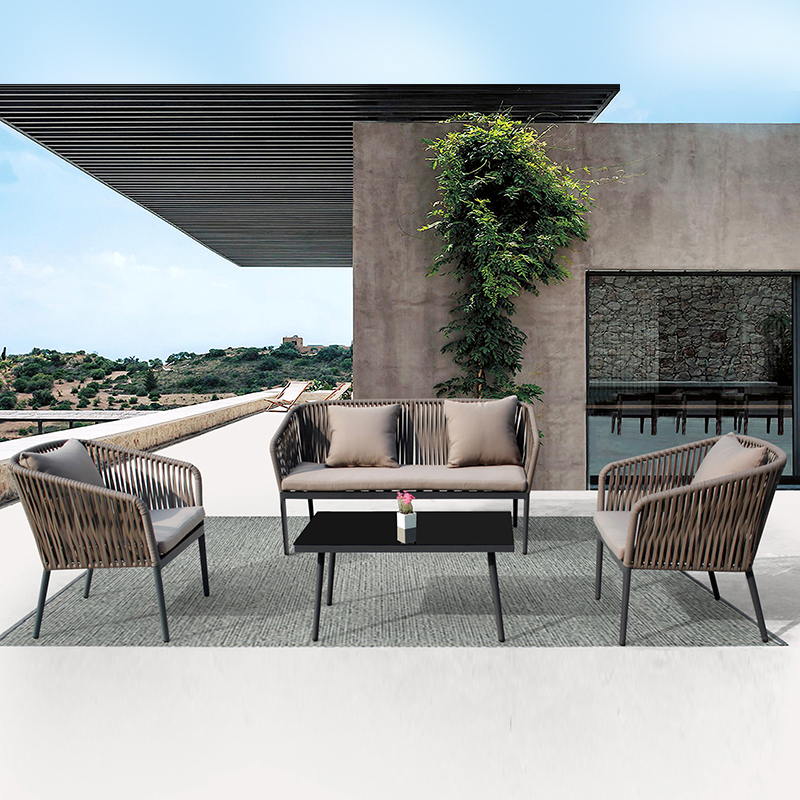 Resort Furniture Outdoor Wicker Sofa