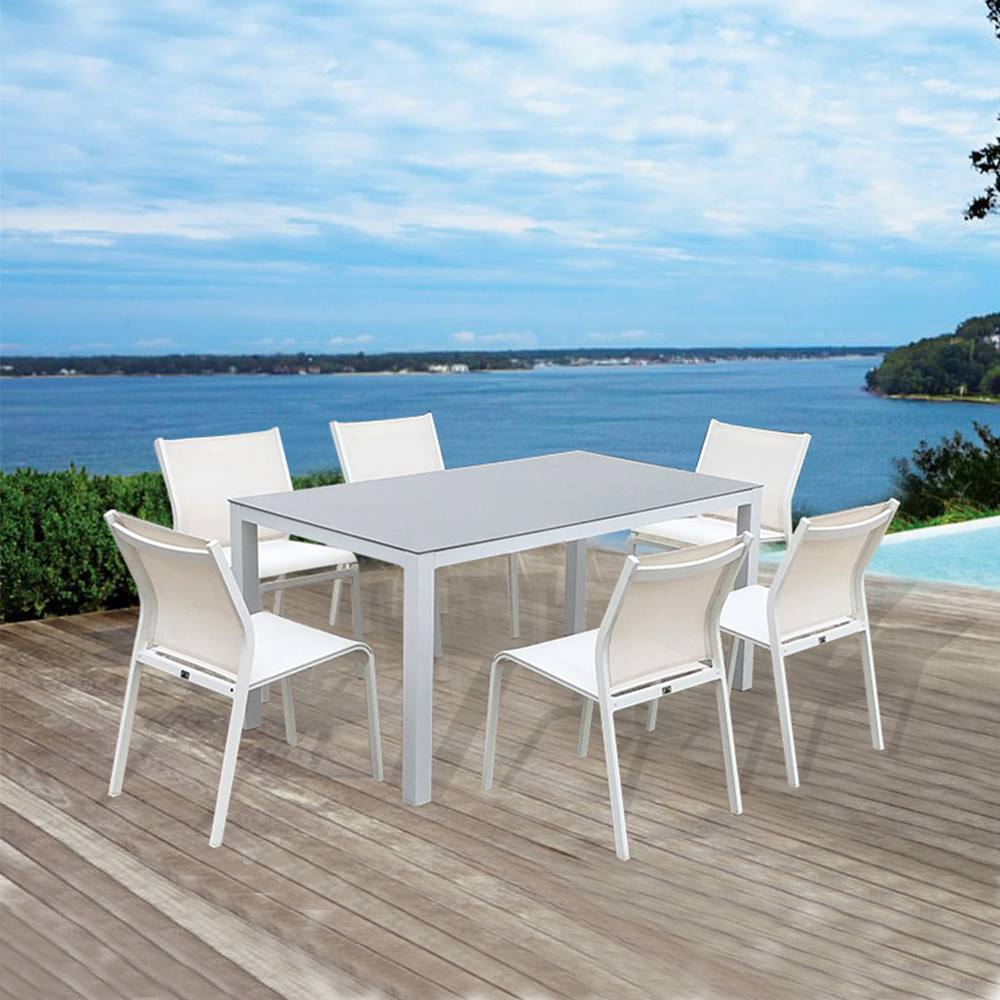 outdoor dining tables and chairs set factory