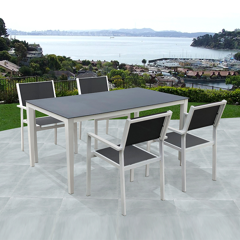 outdoor dining table modern dining set