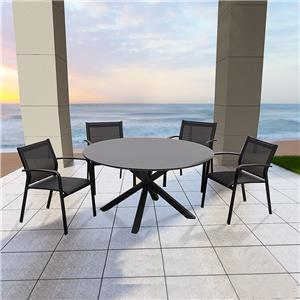 outdoor furniture restaurant table and chair set