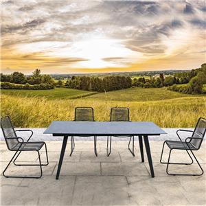 outdoor garden patio furniture dining set supplier