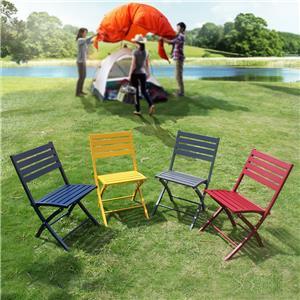 outdoor dining restaurant aluminum folding chairs