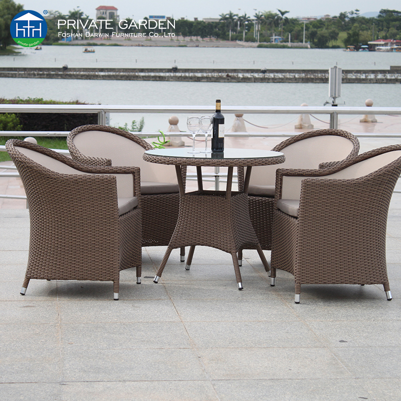 China outdoor patio dining table set factory