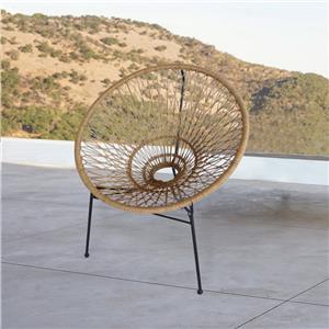 نموذج جديد من الكراسي الفناء حديقة الروطان