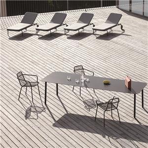 Sistema de tabla barato de las sillas de jardín de China
