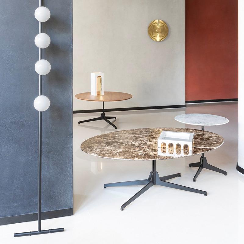 mesa lateral redonda moderna mesa de centro