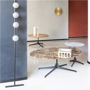 mesa auxiliar redonda mesa de centro de moda