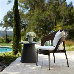 mesa de centro de metal de alta qualidade mesinha lateral de vidro