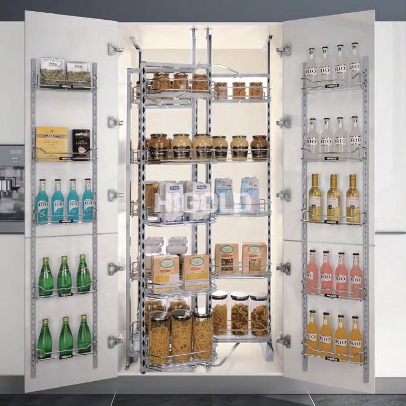 204022 / Quái vật xe đẩy lớn để lưu trữ thực phẩm theo phong cách thời trang