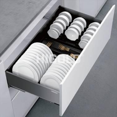 303351 / Cesta de aluminio extraíble para cajón de platos - Shearer Style 2.0