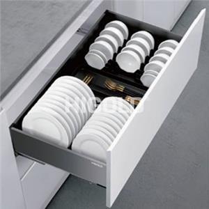 303351 / Rổ ngăn kéo đĩa bằng nhôm - Kiểu Shearer 2.0