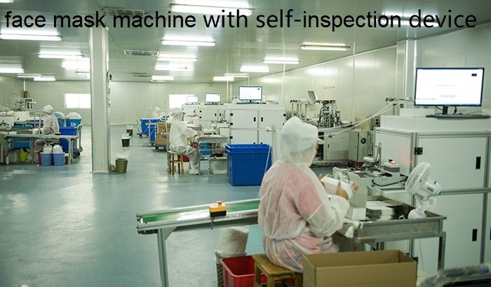 Our advanced face mask production machine