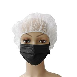 CE Weiße Liste Pflanze Einweg Schwarz Medizinische Maske Medizinische Maske Schwarze Vlies-Mundmuffel