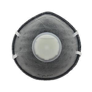 Aktivkohle N95 Atemschutzmaske Einweg-Gesichtsmasken FFP2 Staubmaske Sicherheitsnasenmaske