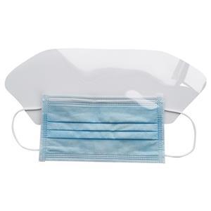 EN14683 IIR Gesichtsmaske mit Visier Surgical Medical Fluid Shield Gesichtsmaske mit Spritzschutz