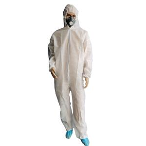 Xiantao Plant Non-woven Spunbonded Suit Industrial Uniform Disposable Pp Coveralls With Hood