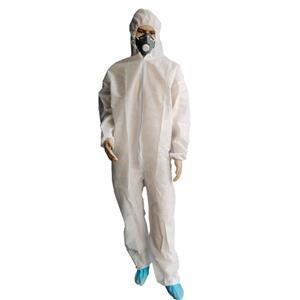 Großhandel und maßgeschneiderte hochwertige PP Overall Bunny Anzug Polypropylen Jumpsuit mit Kapuze und Reißverschluss