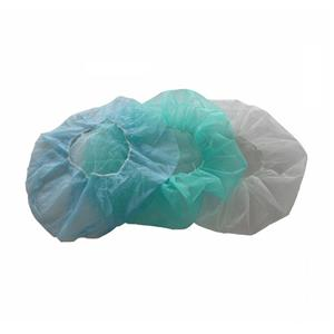 One Time Use PP Bouffant Caps Food Cap Non-woven Bouffant Cap