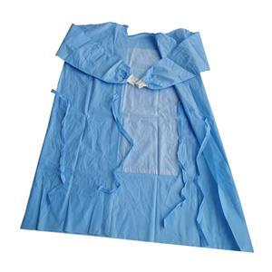 EO Steriles SMS OP-Kleid Verstärktes OP-Kleid Entsorgungs-Chirurgenkleid