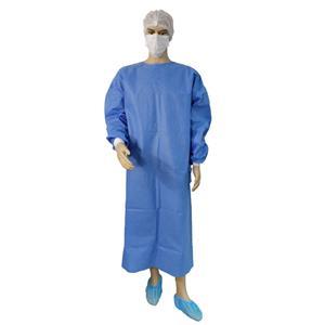 Krankenhaus Einweg sterilisiertes OP-Kleid Wasserdichte OP-Kleider Krankenhaus Roben