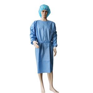 Hubei Lieferant Sms OP-Kleid Medizinische und chirurgische Kleider OP-Abdecktücher