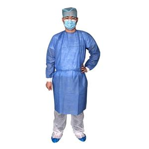 Xiantao Manufacturer Medical And Surgical Gowns Disposable Surgical Gown With Knitted Cuff