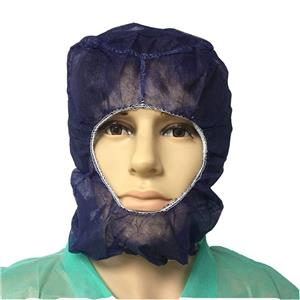 Breathable PP Balaclava Without Face Mask Ninja Caps Robber Cap For Food Factory