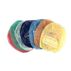 Xiantao Factory Exporter Non Woven Face Mask Beanie Hat Balaclava Disposable Space Cap