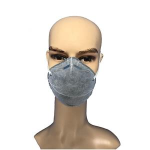 High Filtration Sand And Dust Prevention Disposable Dust Particle Respirator Anti Pollution Mask N95 Respirator Without Valve