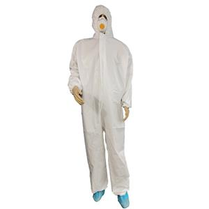 High Quality Waterproof Full-body Coveralls Disposable Protective Overall Macrobond Plus Coverall