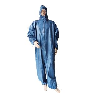 Xiantao Factory Waterproof Disposable Coverall Overall Uniform Disposable Coverall Suit