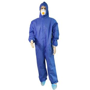 China Supplier Sms Coverall Type 5/6 Disposable Coverall Single Use Coverall