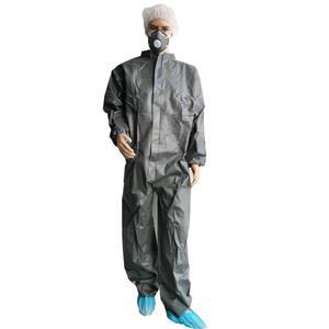 Hubei Supplier Schutzkleidung Overall MF Overall mit Reißverschluss Einweg wasserdichter Overall