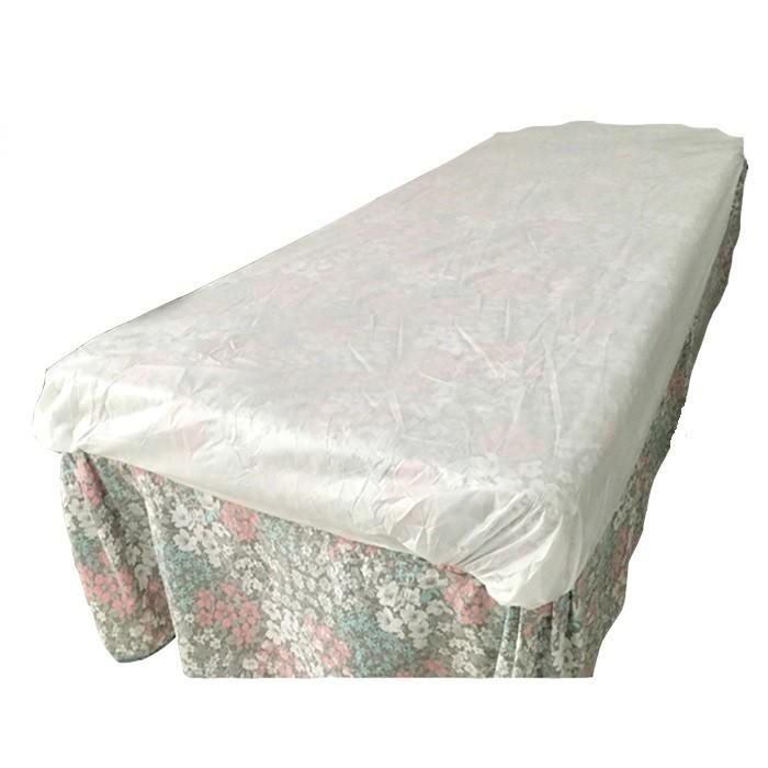 CE ISO FDA-zertifizierte Einweg-PP-Tagesdecke Matratzenbezug Verstellbare Bettdecke
