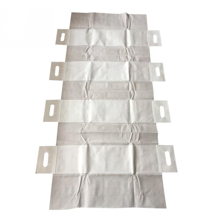 Einweg-Patiententransfer- und Neupositionierungsblatt für das Krankenhaus Patienten-Objektträgerblatt