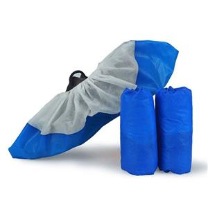 Xiantao Workshop Disposable Shoe Protectors Non Skid Shoe Cover Non Woven Shoe Cover With CPE Sole