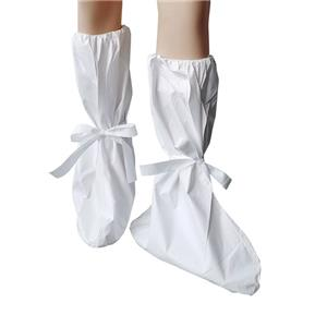 Waterproof Microporous Disposable Medical Shoe Cover Non-woven Overshoes Disposable Shoe Cover With Stripes