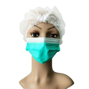 EN14683 TYPE II New Soft Non Woven Green Color Face Mask 3ply Earloop With Filter Face-mask Disposable Mouth Mask
