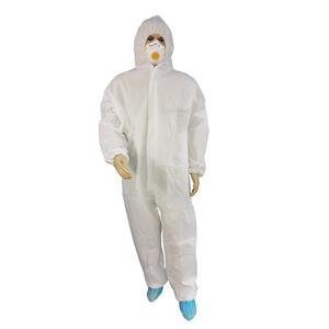 Workshop For Disposable SMS Coverall Cleanroom Coverall Antistatic Disposable Protective Suit