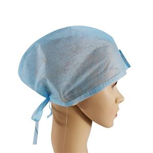 Mechanic One Time Use Pp Doctor Cap Non Woven Surgeon Cap Surgical Hat For Doctors