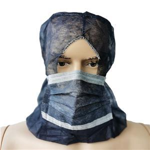 Xiantao 23 Jahre Hersteller Vlies Piratenhaube Einwegkappe mit Maske Einweg Vollmaske