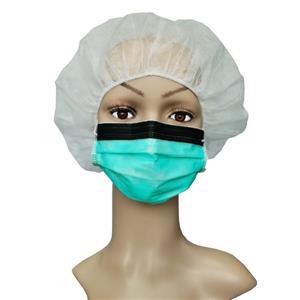 CE-zertifiziert EN14683 Einweg-Anti-Raucher-3-lagige chirurgische Vlies-Gesichtsmaske Anti-Fog-Dentalmaske