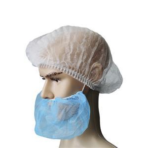 Einweg-PP-Bartabdeckungen für die Lebensmittelindustrie in der chirurgischen Bartmaske aus Polypropylen